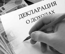 Декларация о доходах министра обороны