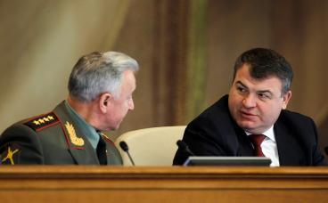 Минобороны РФ опровергло слухи об отставке Анатолия Сердюкова